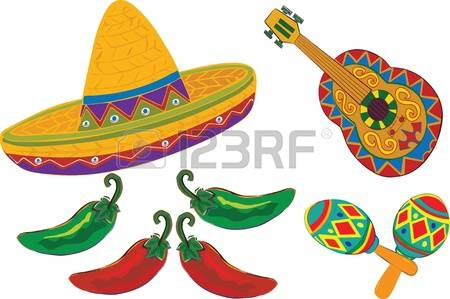 Maracas and sombrero clipart banner transparent stock 47+ Maracas Clip Art   ClipartLook banner transparent stock