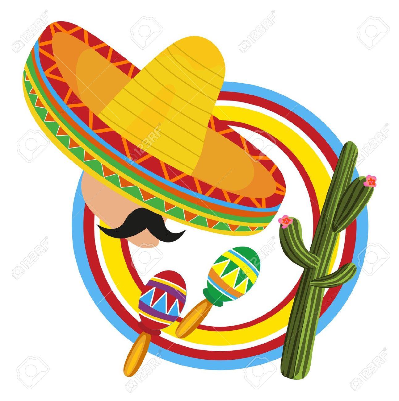 Maracas and sombrero clipart graphic royalty free stock Sombrero Clipart   Free download best Sombrero Clipart on ... graphic royalty free stock