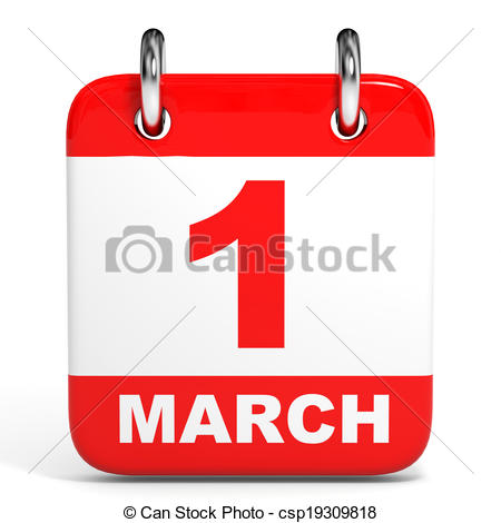 March 1 calendar page clipart svg library library Metal calendar march 1 Illustrations and Clipart. 5 Metal calendar ... svg library library