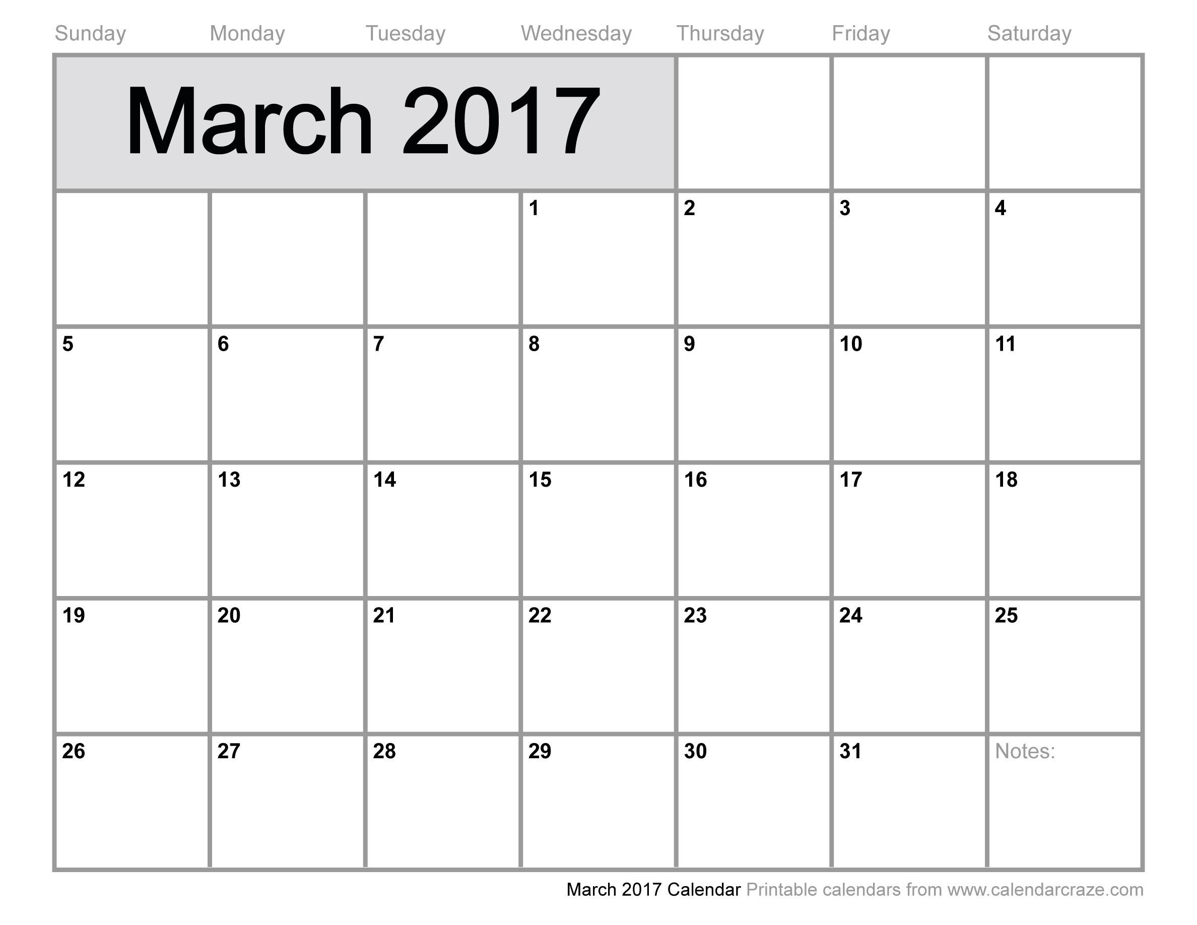 March 2016 calendar clipart clip black and white stock March 2017 Calendar Clipart clip black and white stock