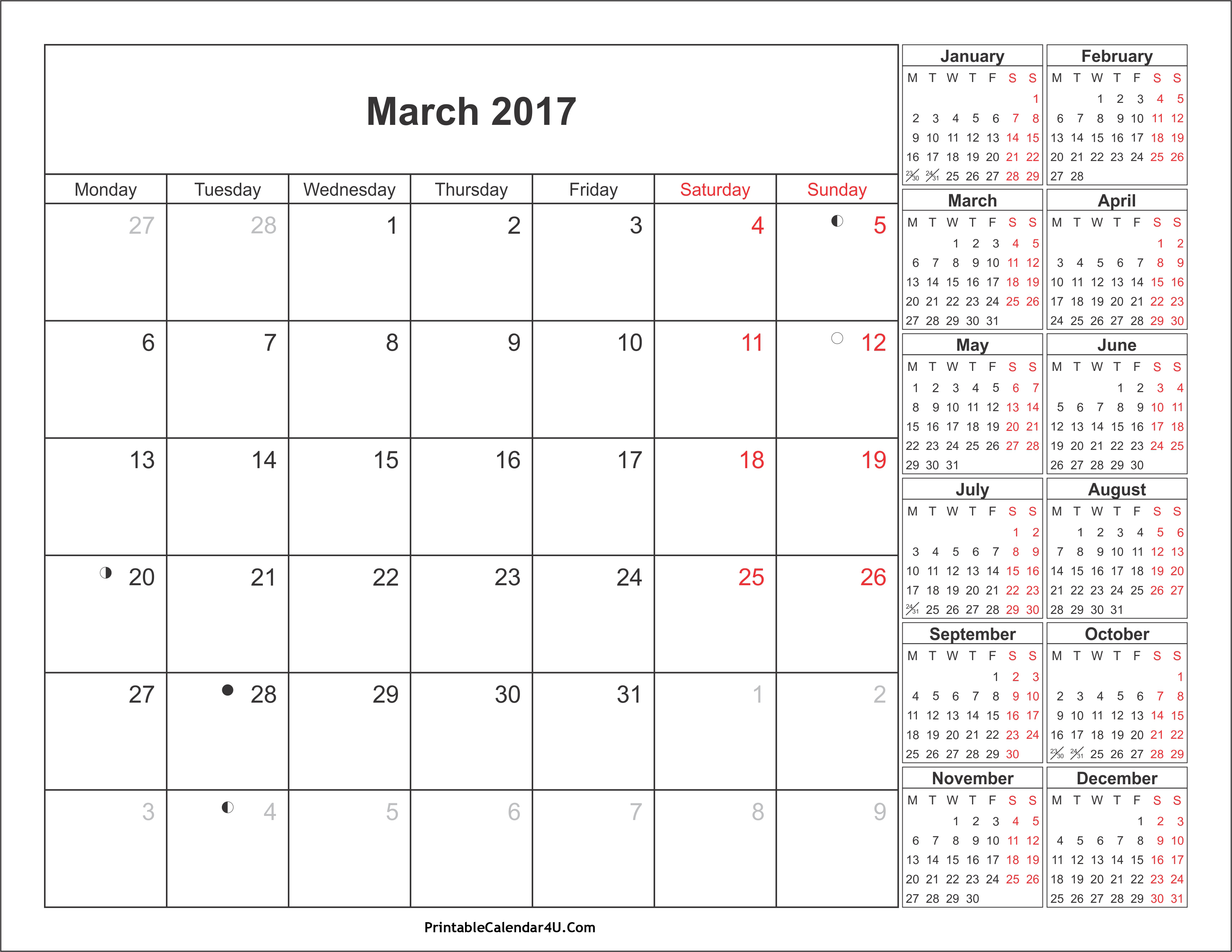 March calendar 2016 clipart clipart library download March 2017 Calendar Clipart clipart library download