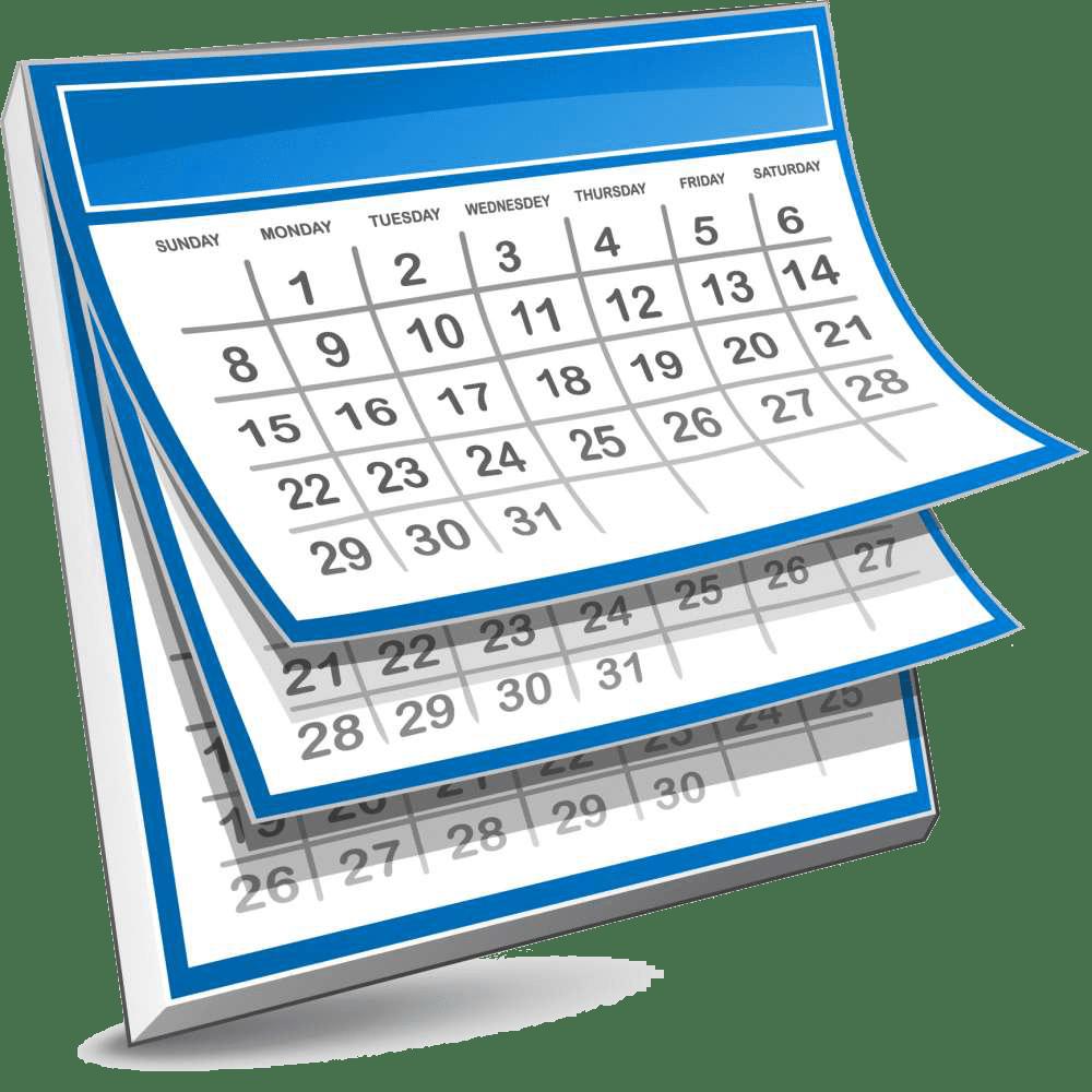 March calendar 2016 clipart svg stock Life of the Church: Calendar – Charles Town Presbyterian Church svg stock