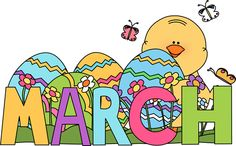 March calendar clip art clipart freeuse March Clip Art For Calendar   Clipart Panda - Free Clipart Images clipart freeuse