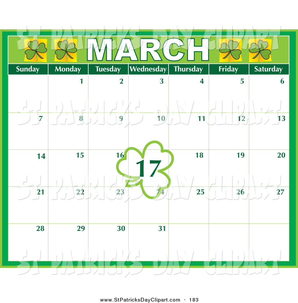 March calendar clipart jpg library library March Calendar Clipart - Clipart Kid jpg library library