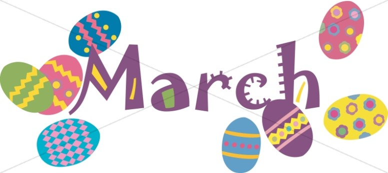 March church calendar clipart png royalty free stock marchcalendar header clip art_petal png royalty free stock
