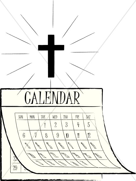 March church calendar clipart image royalty free library Church calendar clipart - ClipartFox image royalty free library