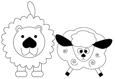 March lion and lamb clipart banner royalty free stock Lots of March Lion & Lamb Ideas! | Grade Onederful banner royalty free stock
