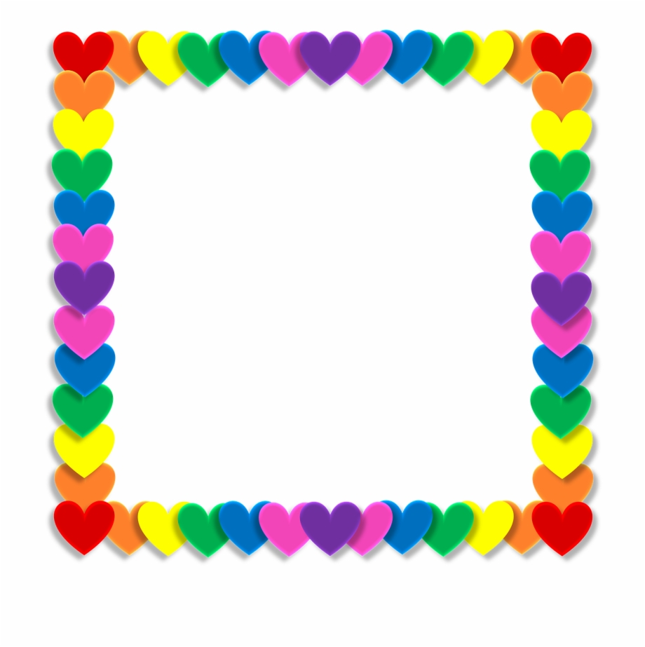 Marco antiguo clipart vector royalty free download Valentine Heart Love Frame Png Image - Marco De Foto ... vector royalty free download