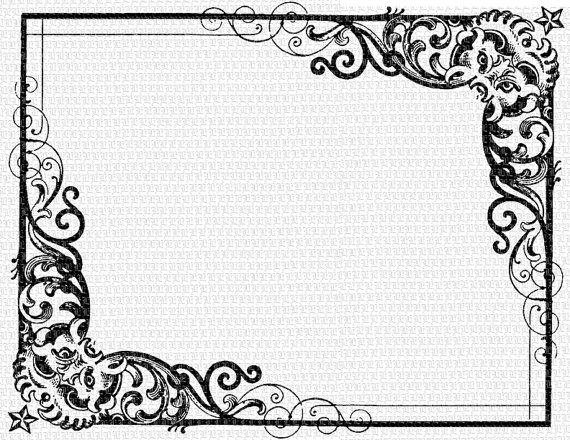 Marco antiguo clipart png royalty free download Antique Frame Victorian Designs Vintage Clip Art ... png royalty free download