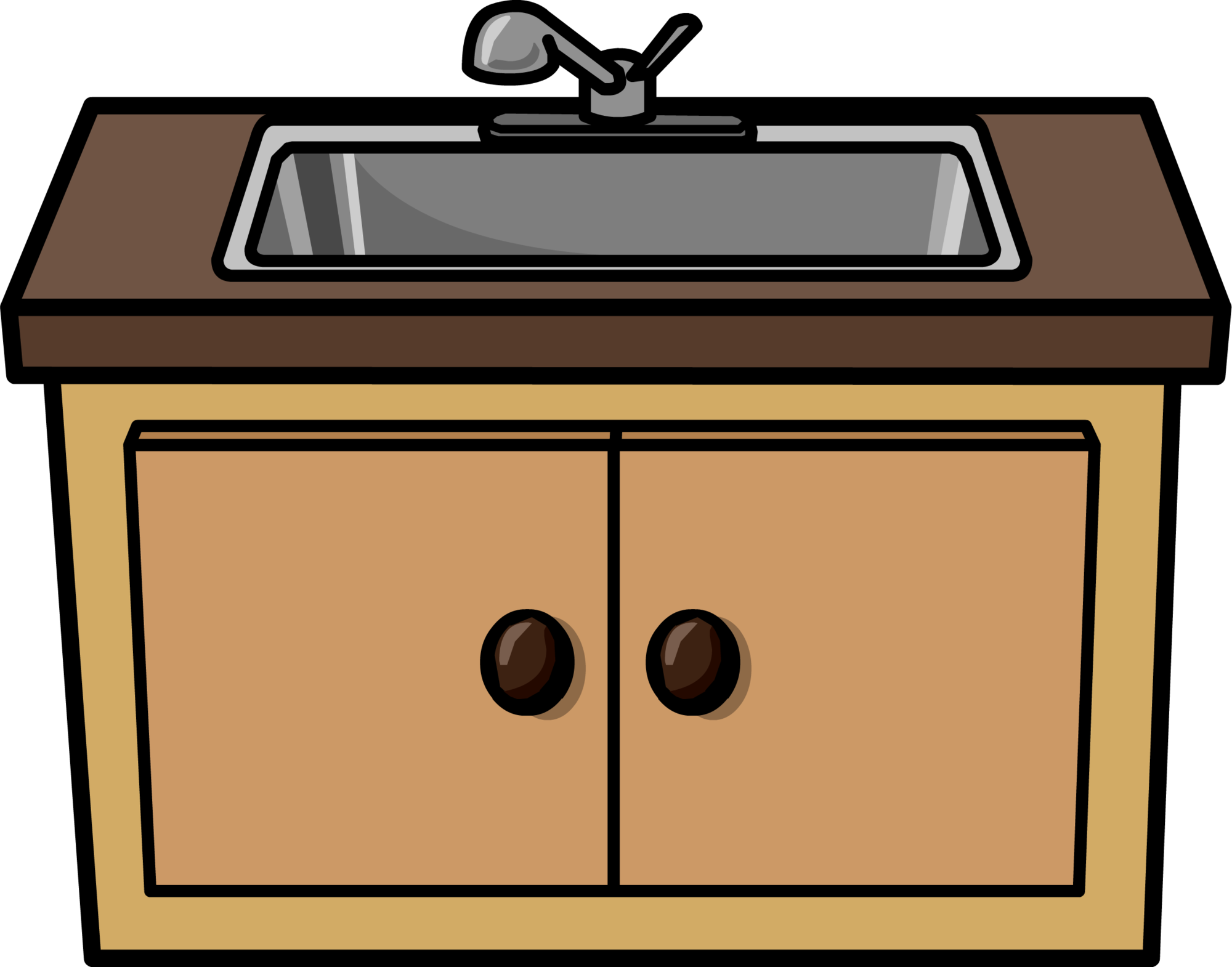 Marco rustico clipart jpg free library Stove clipart kitchen sink - 140 transparent clip arts ... jpg free library
