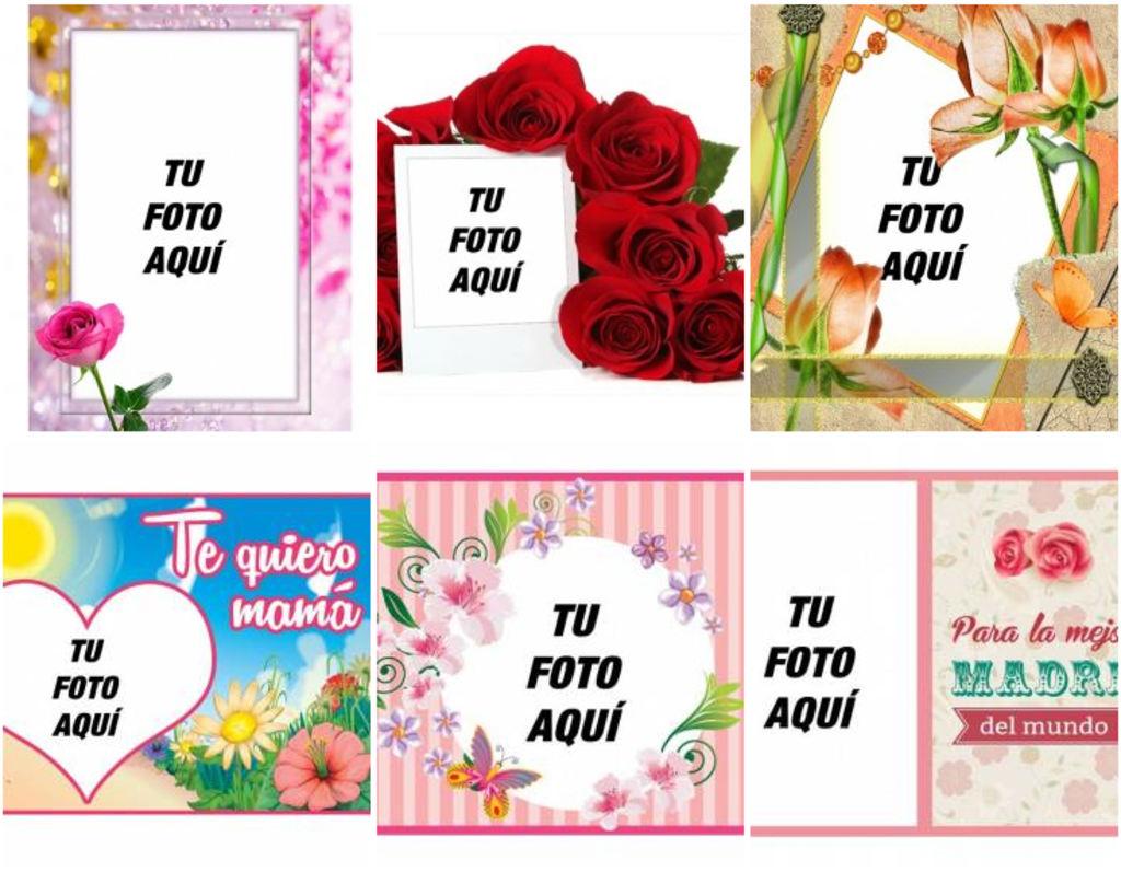 Marcos del dia de la madre clipart graphic transparent download Tarjetas para felicitar en el día de la madre - Fotoefectos graphic transparent download