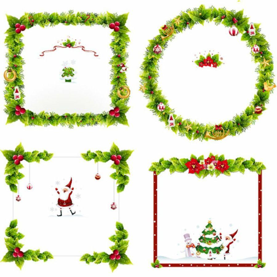 Marcos navidenos clipart gratis clip free download Ornamentos y marcos gratis para tus fotomontajes de navidad ... clip free download