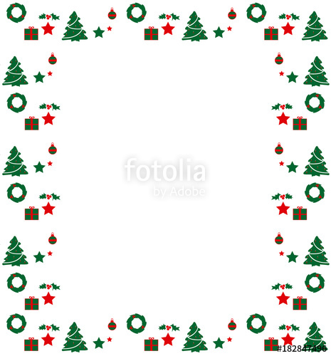 Marcos navidenos clipart gratis clip art royalty free library Marco de Navidad (Vector)\