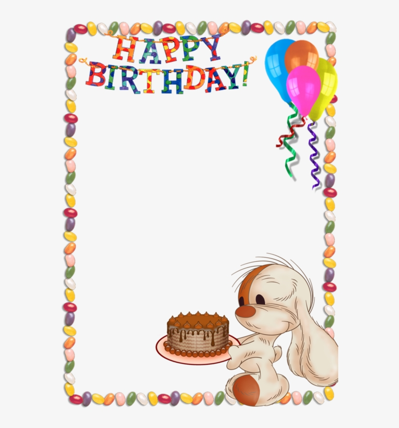Marcos para cumplea+-os clipart clipart freeuse stock Kids Birthday Background Png - Marco De Feliz Cumpleaños PNG ... clipart freeuse stock