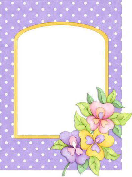 Marcos para el dia de la madre clipart clip art black and white download FLOWERS | FRAMES / BORDERS / CORNERS | Marcos para dibujos ... clip art black and white download