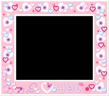 Marcos para fotos clipart gratis clip transparent Marcos con Corazones para Imprimir Gratis.   Valentine ... clip transparent