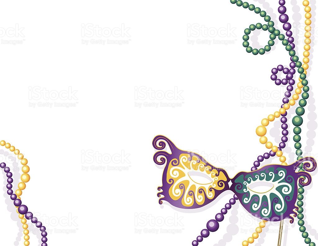 Library Of Mardi Gras Border Image Royalty Free Library Png Files