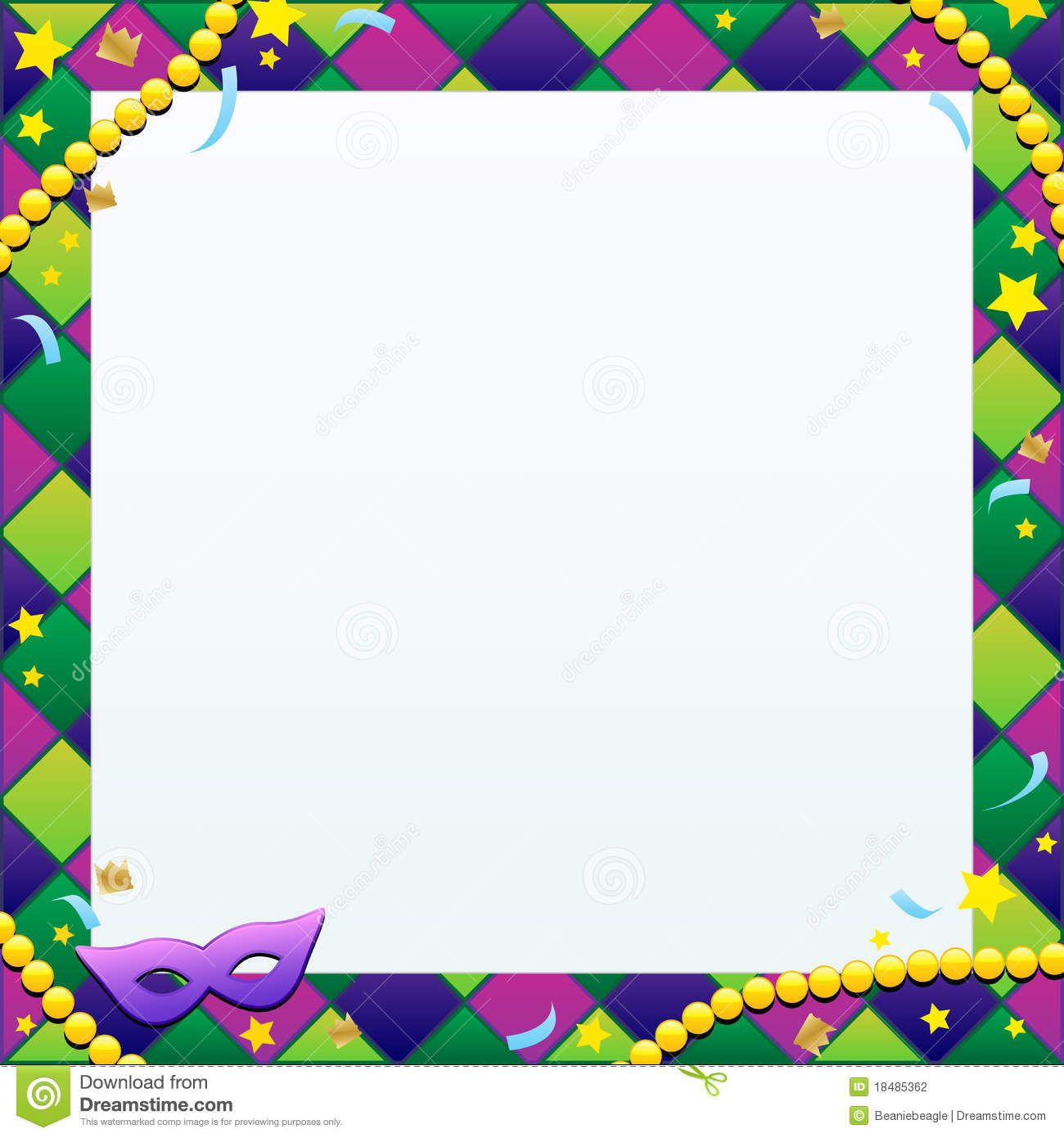Mardi gras framesfree clipart colors svg transparent stock mardi gras borders backgrounds | An illustration of a Mardi ... svg transparent stock