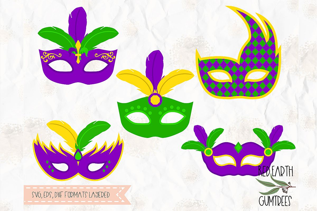 Mardi gras feathers clipart png library Mardi Gras mask, Mask with feathers, Carnival mask SVG, EPS png library