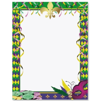 Mardi gras framesfree clipart colors svg freeuse download Free Mardi Gras Borders Group with 69+ items svg freeuse download