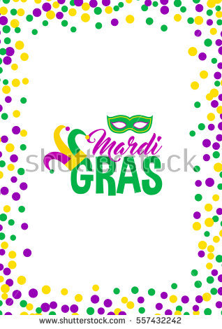 Mardi gras framesfree clipart colors banner transparent stock Free Mardi Gras Borders Group with 69+ items banner transparent stock