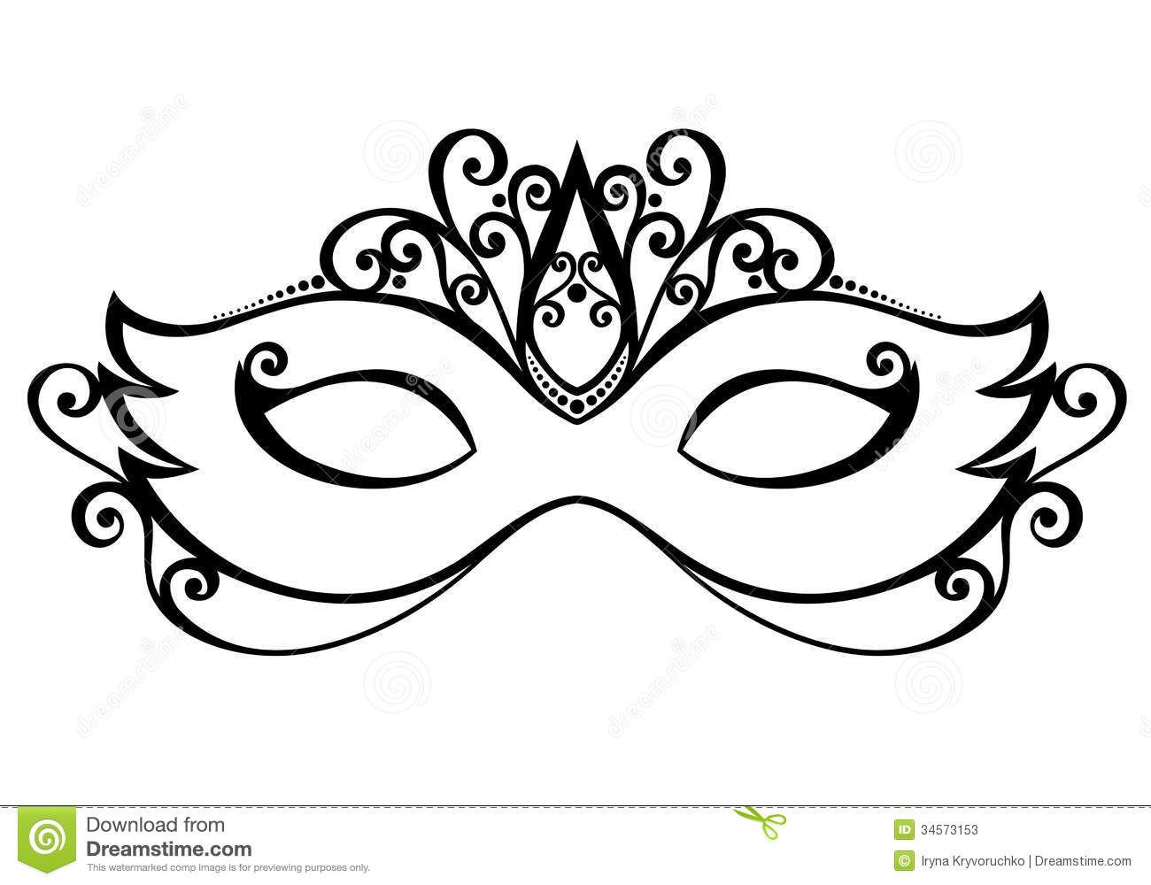 Mardi gras mask black and white clipart image freeuse stock Use the form below to delete this Masquerade Mask Clip Art ... image freeuse stock