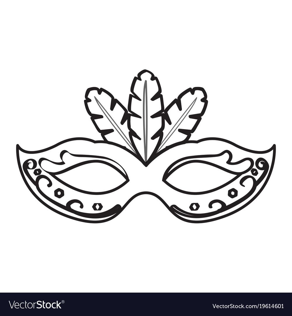 Mardi gras mask black and white clipart clip art download Mardi gras mask icon clip art download