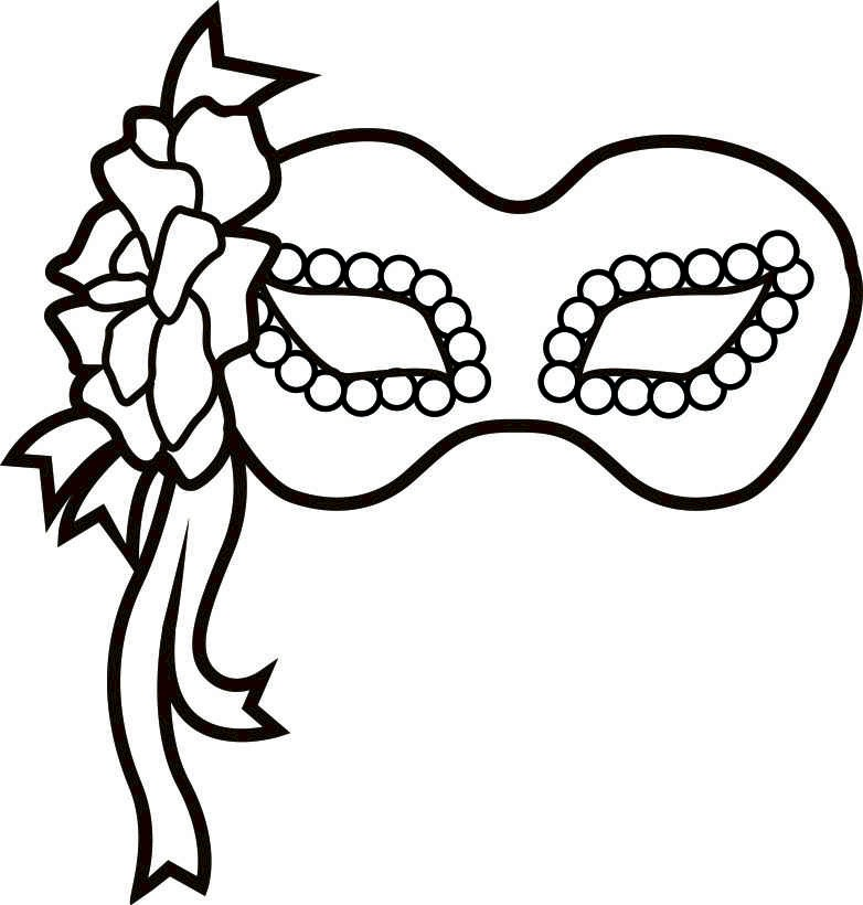 Mardi gras mask black and white clipart transparent stock Free Mardi Gras Masks Pics, Download Free Clip Art, Free ... transparent stock