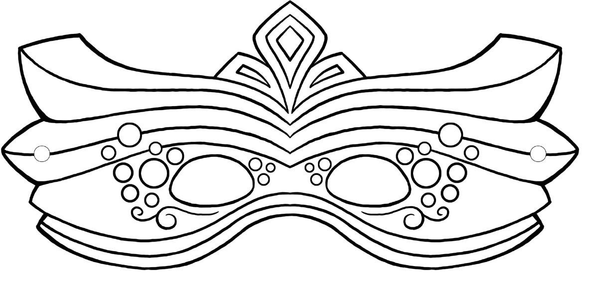 Mardi gras mask black and white clipart graphic black and white stock Mardi gras mask clipart black and white 3 » Clipart Portal graphic black and white stock