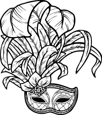 Mardi gras mask clipart black and white clown png black and white download Pin by JUDITH LEVITIN on MASKS   Carnival, Drawings, Clipart ... png black and white download