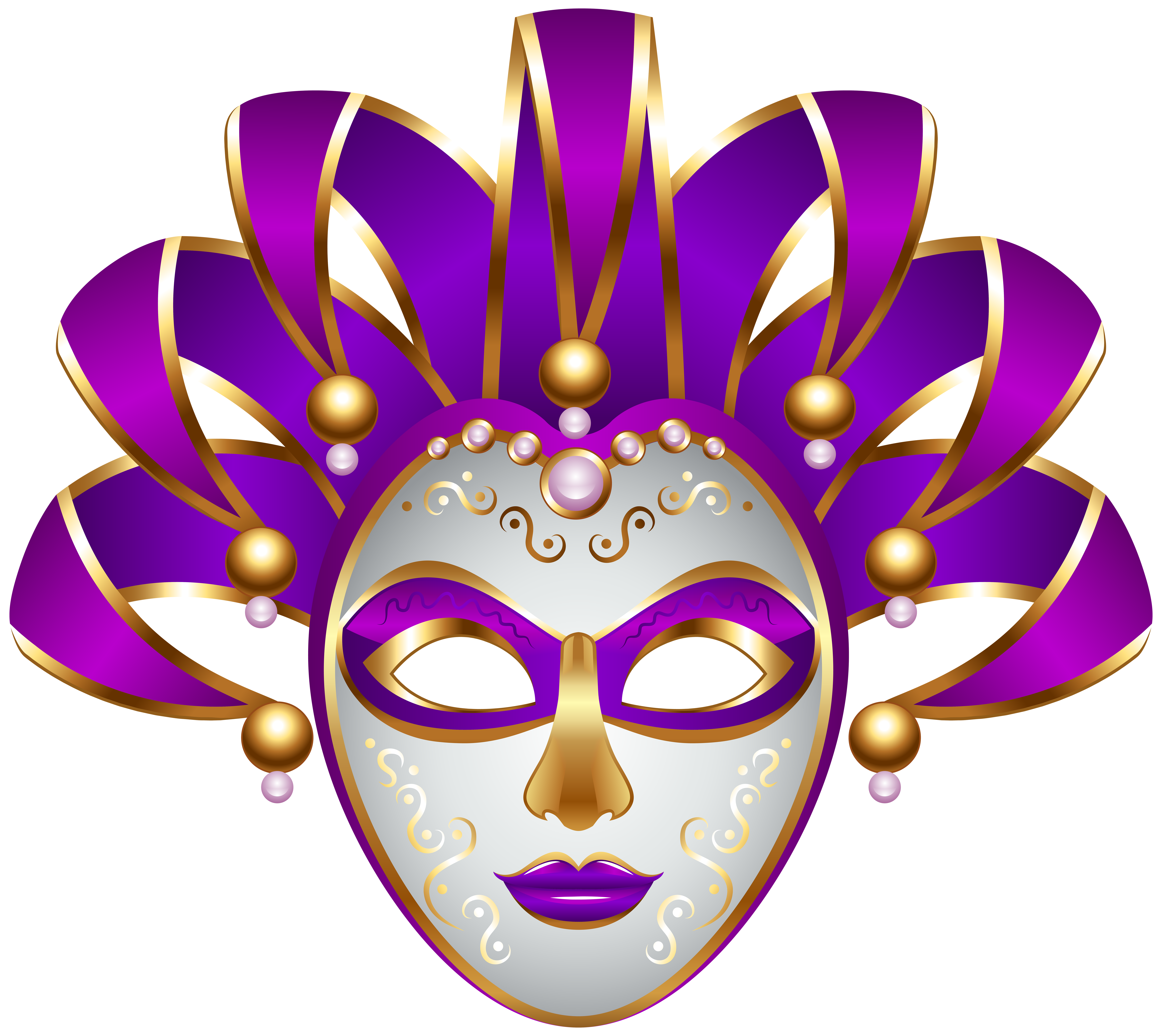 Mardis gras crown clipart banner stock 28+ Collection of Mask Clipart Png | High quality, free cliparts ... banner stock