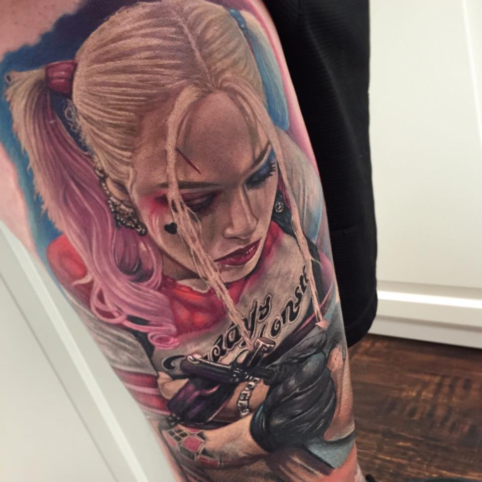 Margot robbie harley quinn clipart picture freeuse Margot Robbie Harley Quinn Tattoo On Arm picture freeuse
