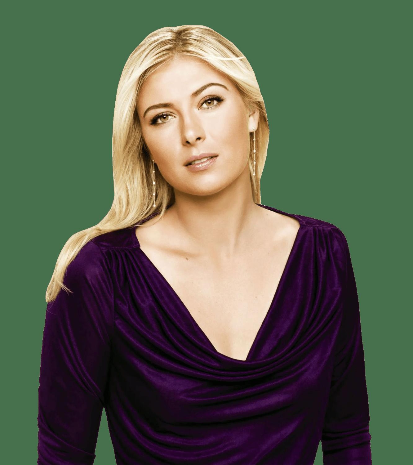 Maria sharapova clipart clip freeuse stock Maria Sharapova Purple Dress transparent PNG - StickPNG clip freeuse stock