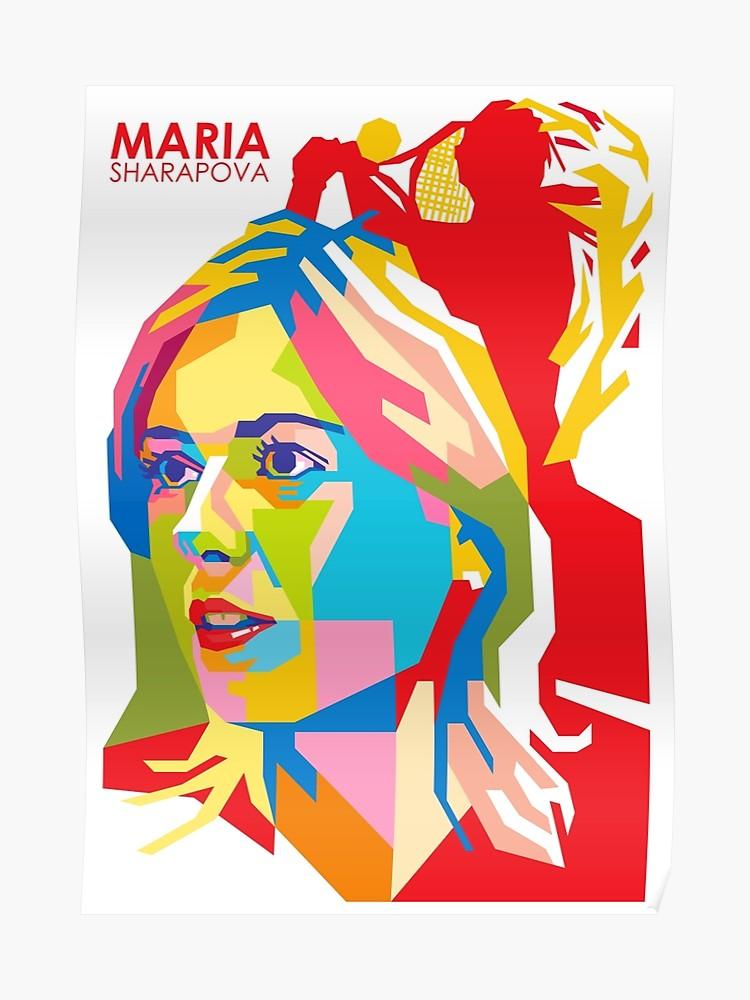 Maria sharapova clipart royalty free WPAP - \