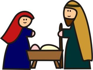 Maria und josef clipart
