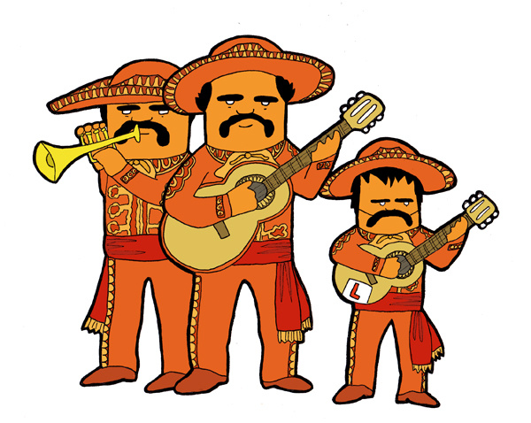 Mariachis clipart picture royalty free stock Free Fiesta Mariachi Cliparts, Download Free Clip Art, Free ... picture royalty free stock