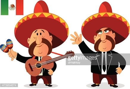 Mariachis clipart image library download Mexican Mariachi Band premium clipart - ClipartLogo.com image library download
