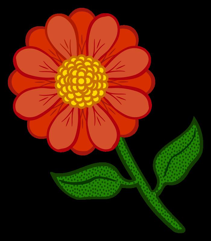 Marigold flower clipart clip stock Clipart - flower - coloured clip stock