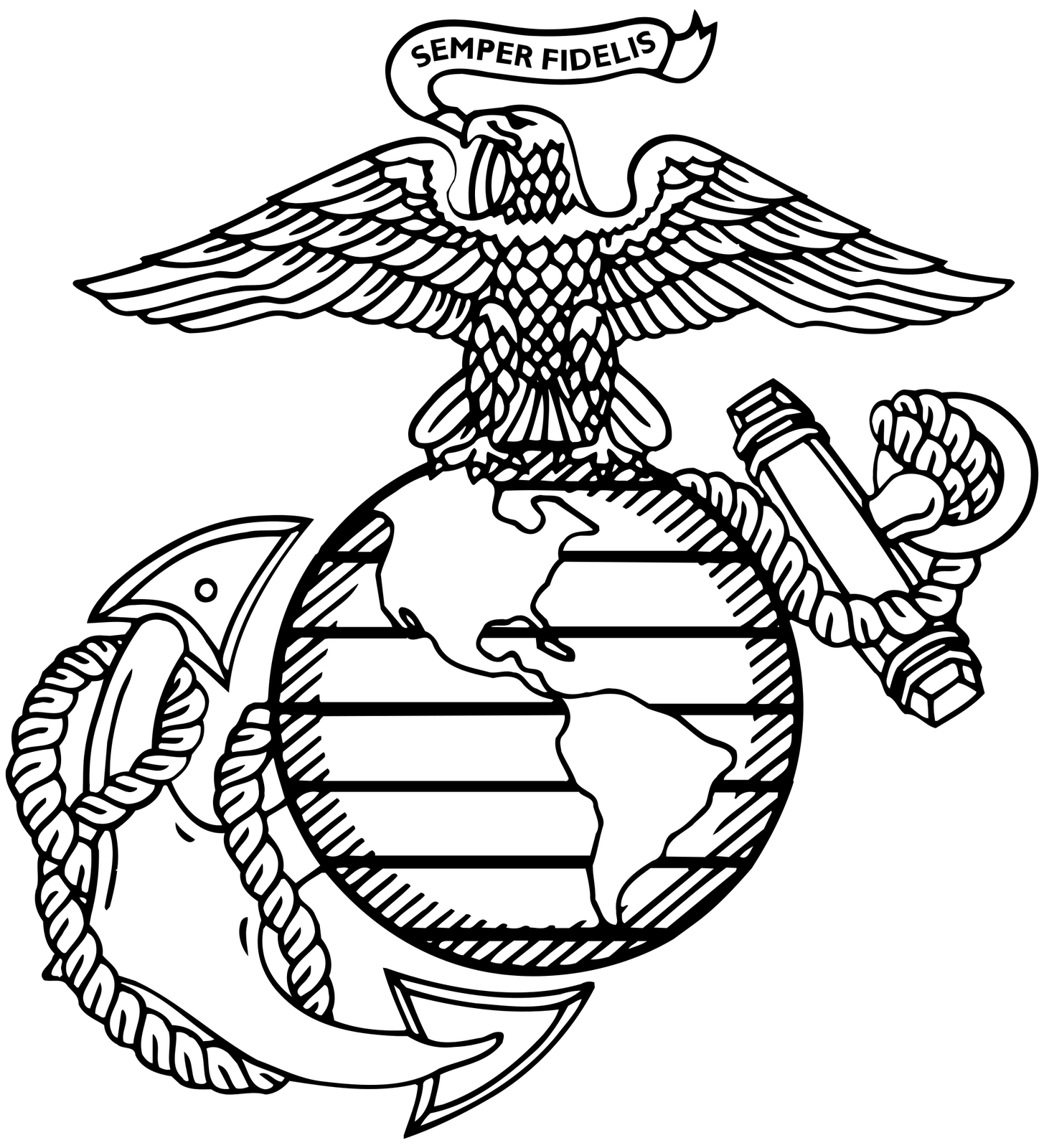 2000px-Globeanchor.svg.png (1455×1600) | United States Marine Corps ... picture transparent stock