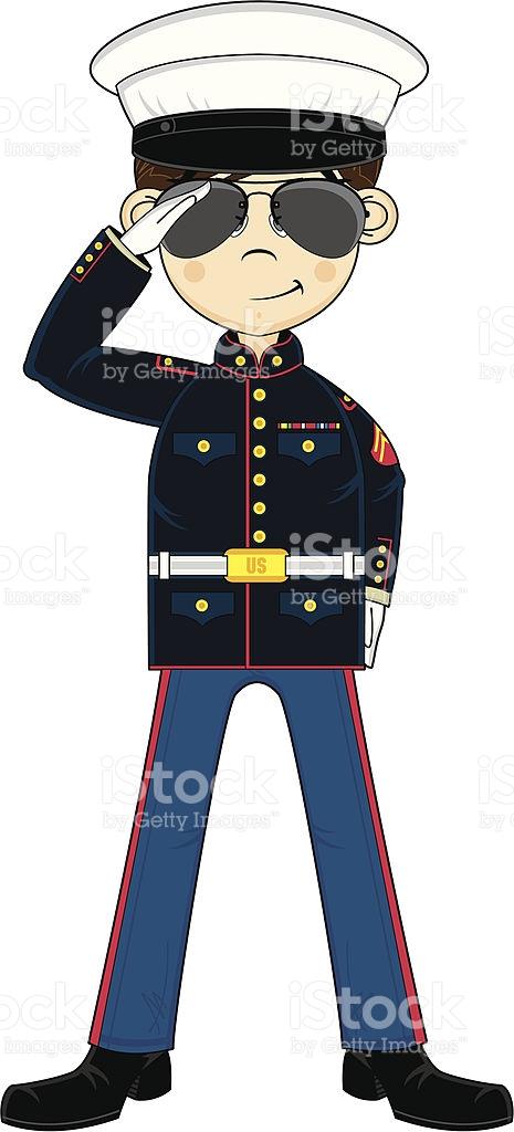 Marine hat clipart