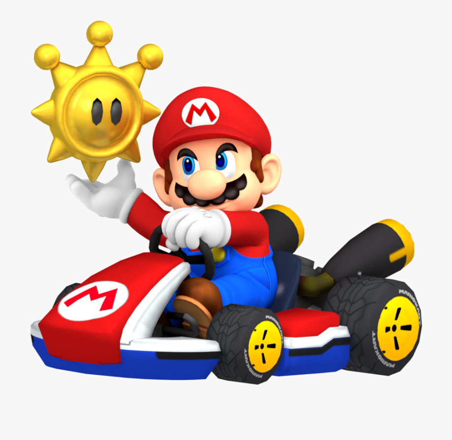 Mario kart 8 clipart image transparent library Mario Kart Png - Mario Kart 8 Mario Png #1869725 - Free ... image transparent library