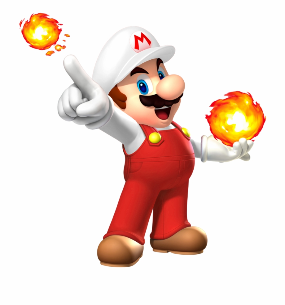 Library of mario fireball clipart download png files ...