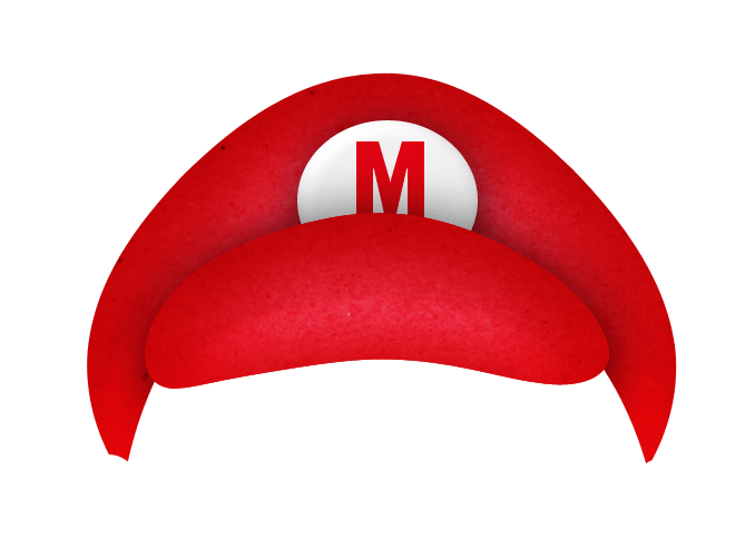 Mario hat clipart picture royalty free library Mario hat clipart 3 » Clipart Portal picture royalty free library