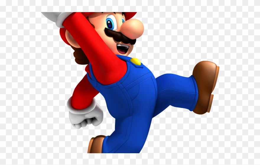 Mario jumping clipart graphic free Mario Bros Clipart Jumping - New Super Mario Bros Wii - Png ... graphic free