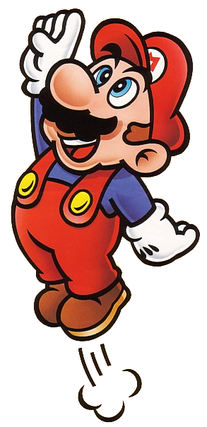 Mario jumping clipart clip art transparent library Mario Jumping - Super Mario Bros | art | Mario bros, Game ... clip art transparent library