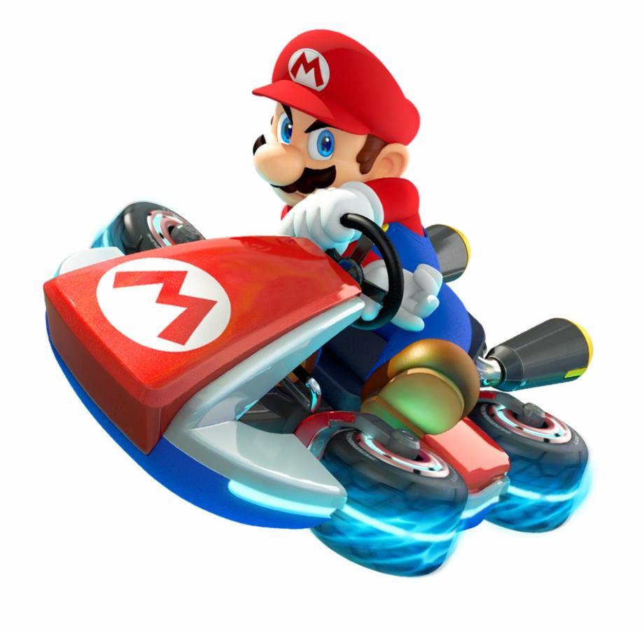 Mario kart 8 clipart image black and white Mario Kart 8, Super Mario Kart, Mario Kart Wii, Toy, - Mario ... image black and white