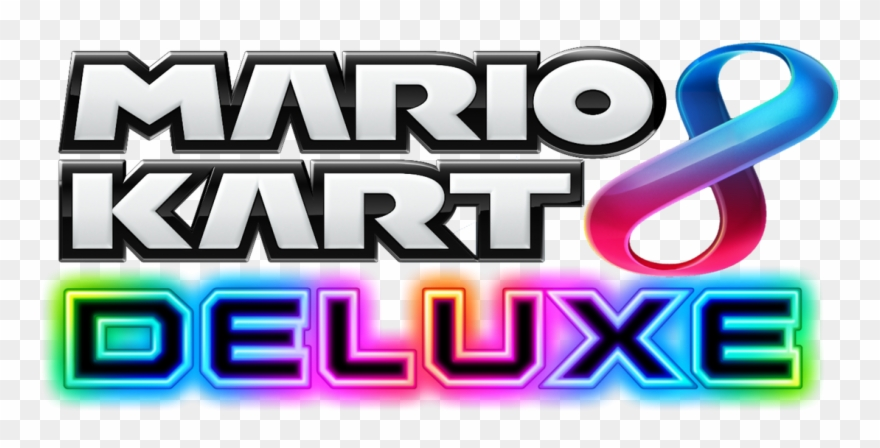 Mario kart 8 deluxe clipart png library download Mario Kart 8 Deluxe Logo Png Clipart (#2273022) - PinClipart png library download