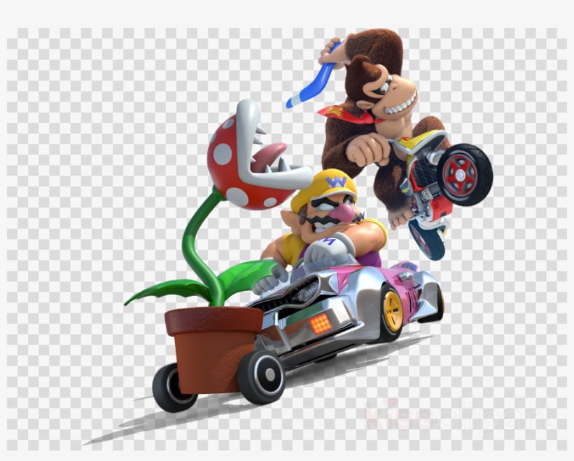 Mario kart 8 deluxe clipart picture free Lb International Rmk2728scs Mario Kart 8 Peel Clipart ... picture free