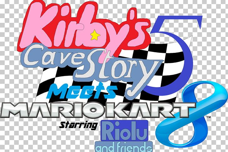 Mario kart 8 deluxe logo clipart jpg black and white Mario Kart 8 Deluxe Logo Kirby\'s Adventure PNG, Clipart ... jpg black and white
