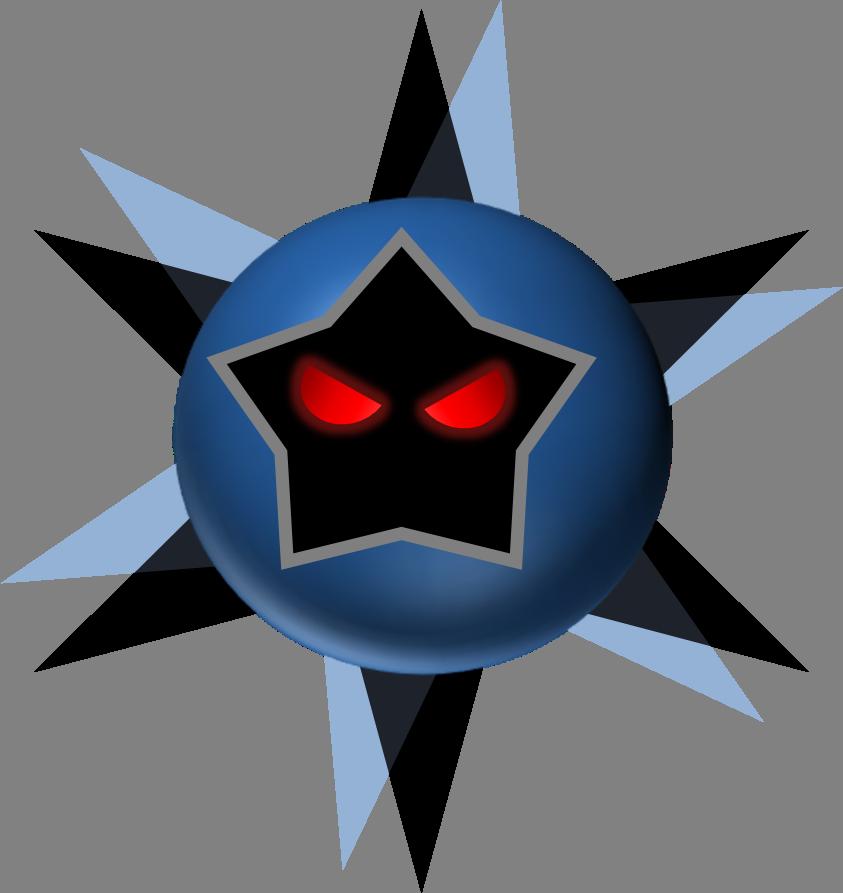 Mario star clipart png svg library stock 3D Dark star by Rotommowtom on DeviantArt svg library stock
